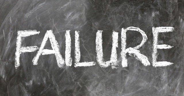 fracasar en todo